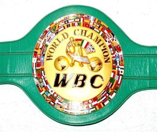 WBCのチャンピョンベルト