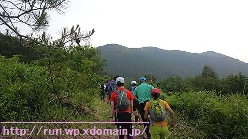 七時雨トレイルラン田代山登山