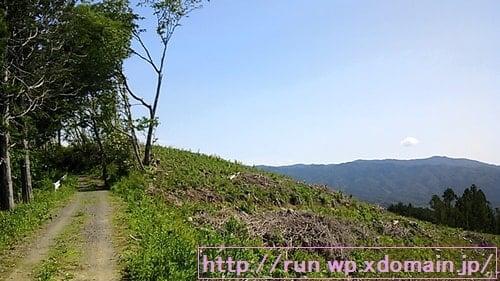 奥久慈トレイルレース山頂