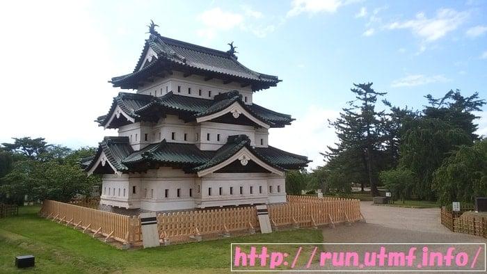 弘前城を観光して岩木山トレイルランニングで45Kmに挑戦。