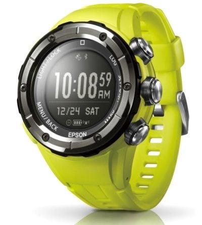 トレイルランニング時計MZ-500の新商品。