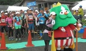第1回蔵王トレイルラン2013もはや登山状態。