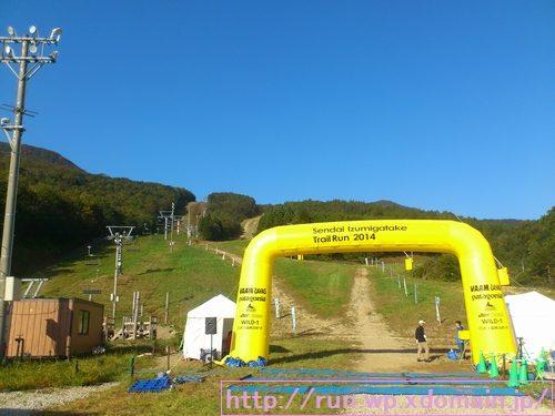 仙台泉ヶ岳トレイルラン。