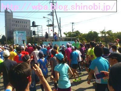 千葉アクアラインマラソンのランナー達