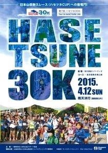 ハセツネ30k(日本山岳耐久レース)の大会リーフレット