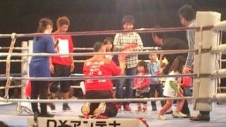 ボクシングバンタム級世界王者長谷川穂積を見てきた!