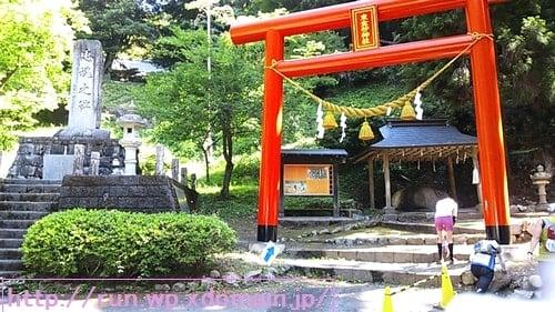 奥久慈トレイルレース東金砂神社