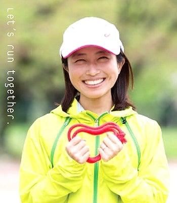 パラリンピック視覚障害者ランナー道下美里。