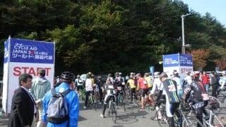 ツールド猪苗代湖90Kmコースに向けてロードバイクを輪行。