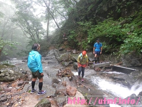 OSJ安達太良山トレイルランニング50Kの試走で行った奥岳の湯。