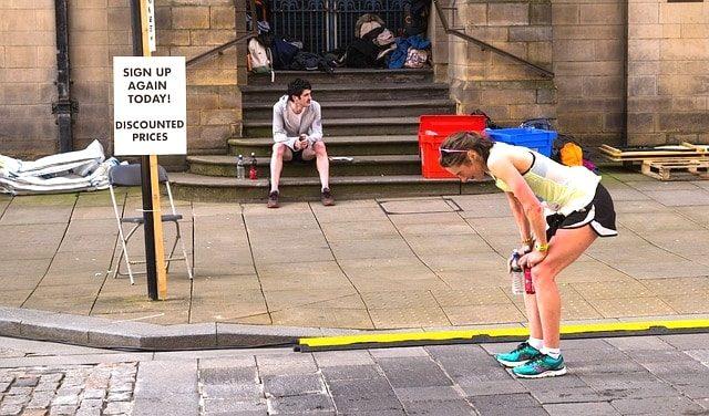 初フルマラソンを走った後のダメージ身体疲労・筋肉痛を回復させる。
