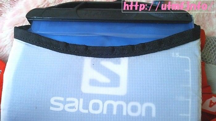 最速で水分補給できるサロモンのハイドレーションとソフトフラスク。