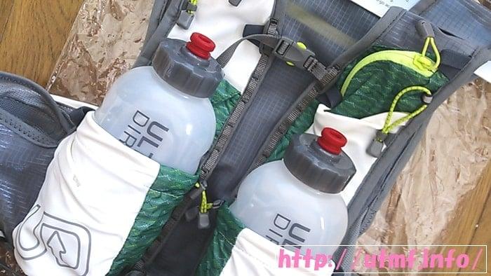 アルティメイトディレクションのJUREK FKT VESTはボトル2本付属でお得。