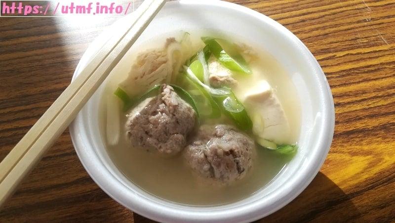 ツールド東北・女川汁(秋刀魚のつみれ汁)