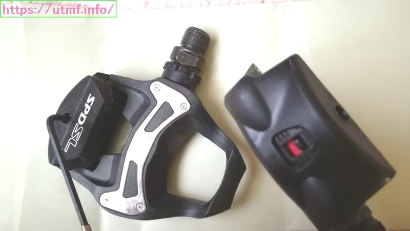Buy a binding pedal (PD-R550L) and shoes (SH-RP500)