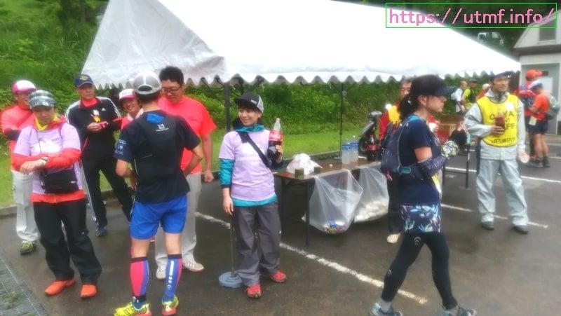 新潟県の越後カントリートレイルに参加!地元の応援と流しそうめん。