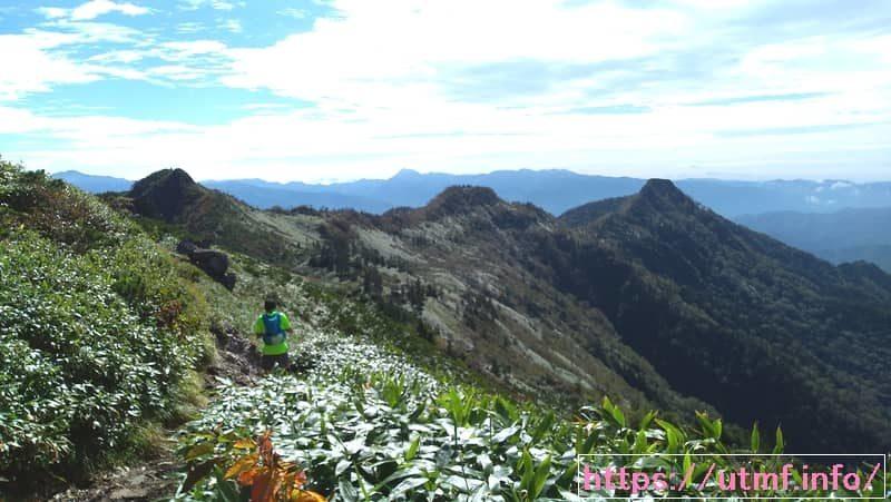 The 6th JYOSYU HOTAKASAN Sky View Trail (aid) (穂高山頂)