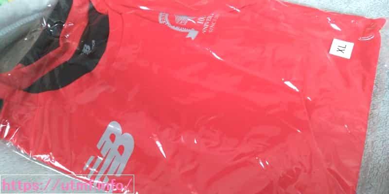 湘南国際マラソンの参加賞Tシャツ
