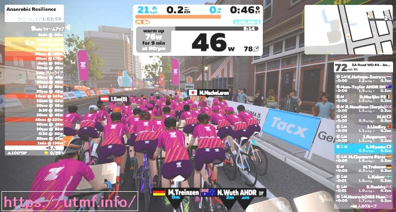 Zwift Women's Ride